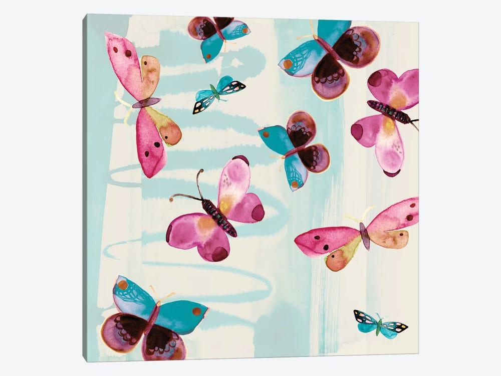 Butterfly Serendipity by Sara Franklin 1-piece Art Print
