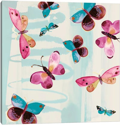 Butterfly Serendipity Canvas Print #SFR27