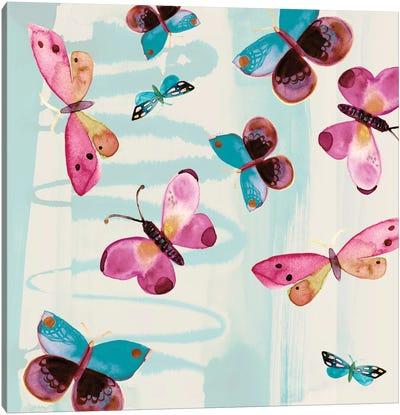 Butterfly Serendipity Canvas Art Print