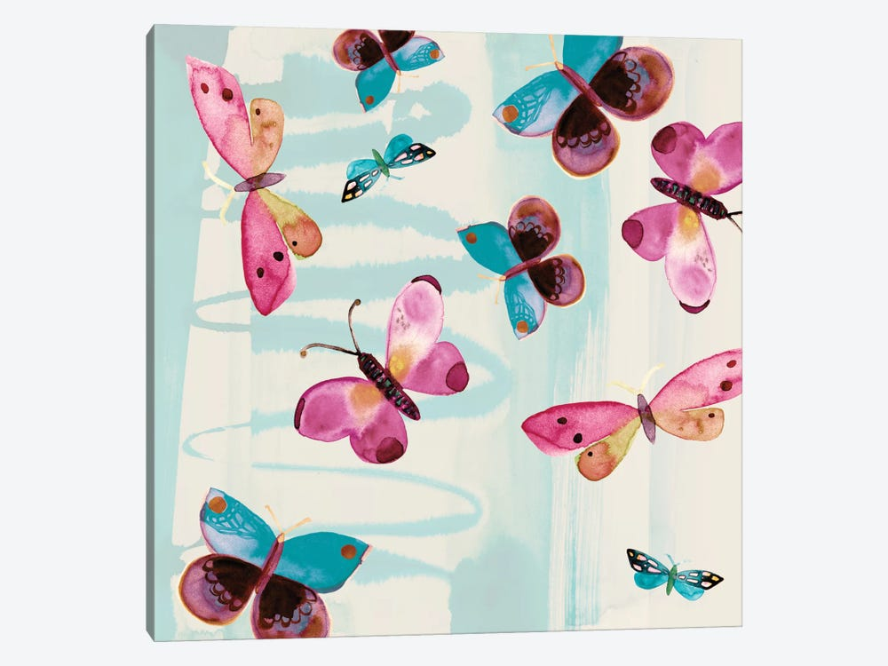 Butterfly Serendipity by Sara Franklin 1-piece Art Print