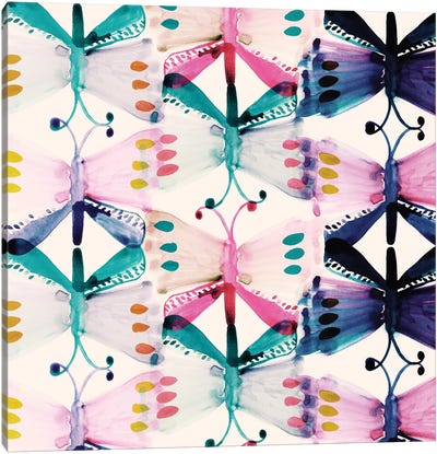 Butterfly Wings Canvas Print #SFR28