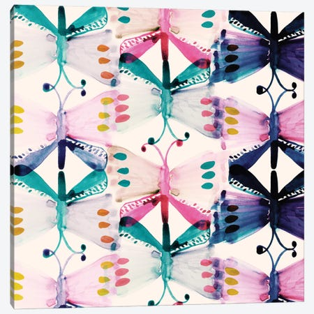 Butterfly Wings Canvas Print #SFR28} by Sara Franklin Art Print