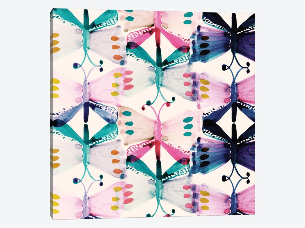 Butterfly Wings by Sara Franklin 1-piece Canvas Art