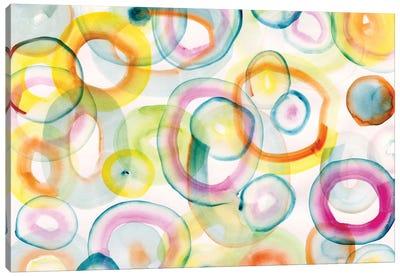 Chasing Yellow Canvas Art Print