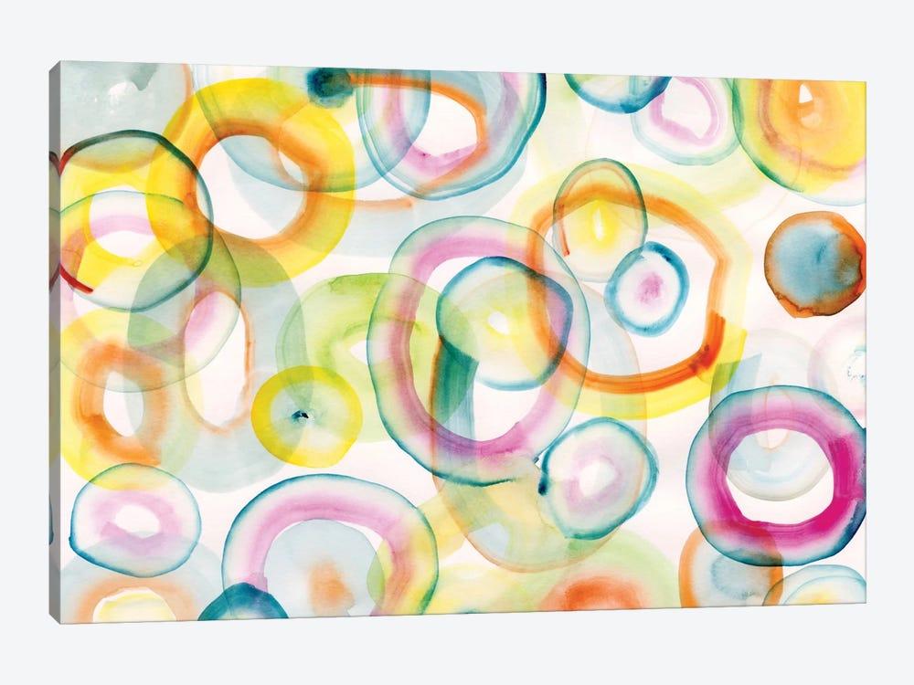 Chasing Yellow by Sara Franklin 1-piece Art Print