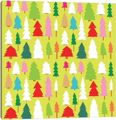 Christmas Trees Canvas Art Print