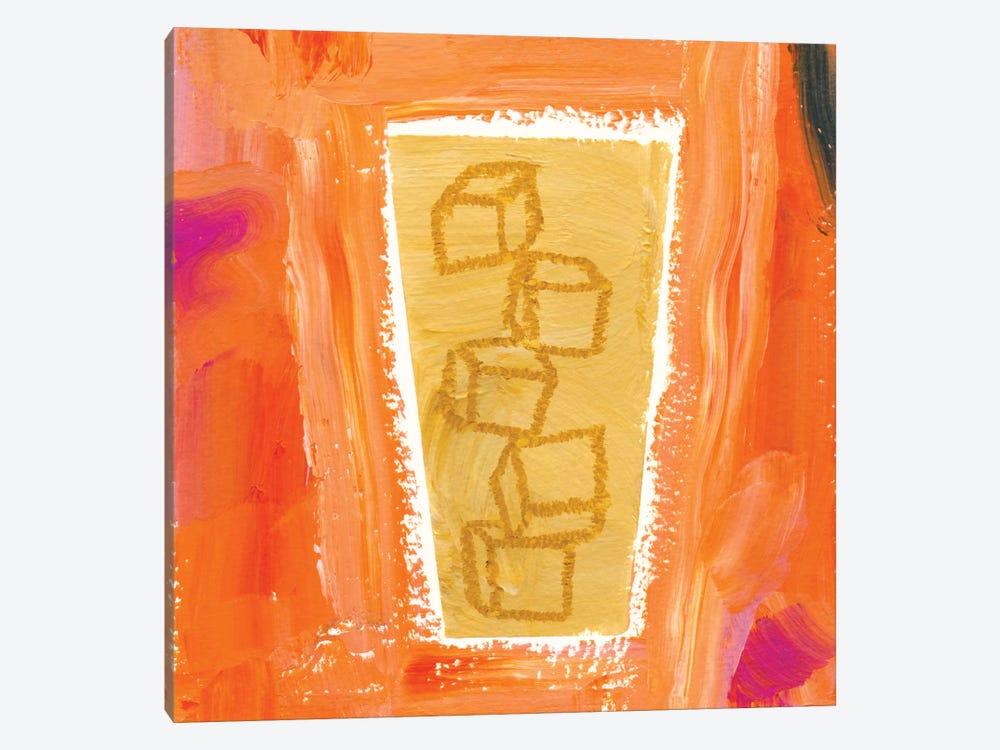 Coffee Cubes by Sara Franklin 1-piece Art Print
