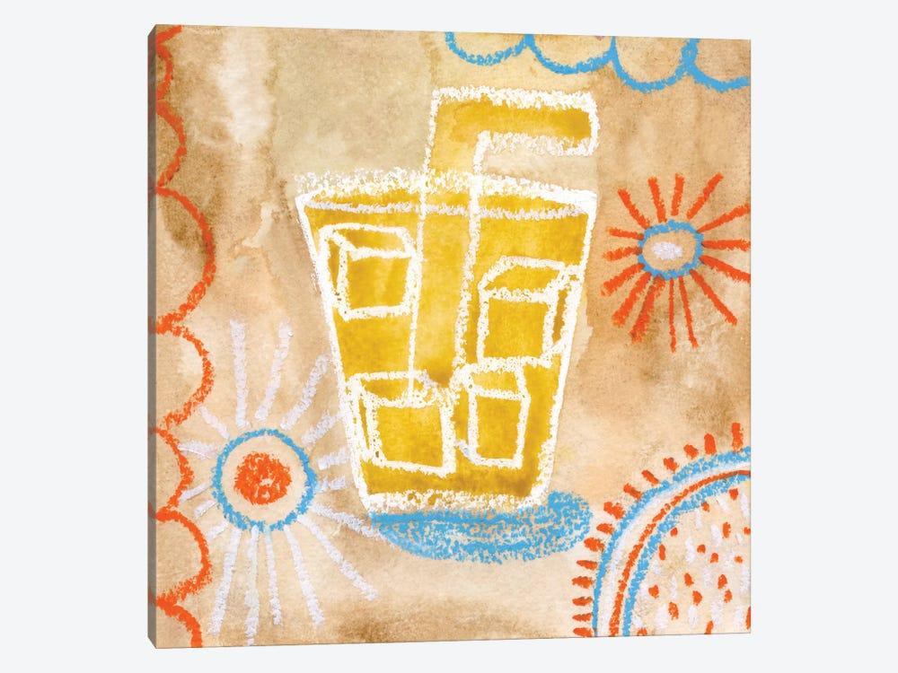 Coffee Time by Sara Franklin 1-piece Canvas Wall Art