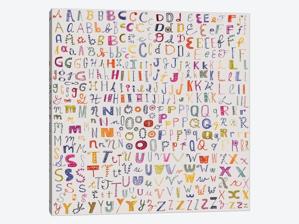 Alphabetical by Sara Franklin 1-piece Art Print