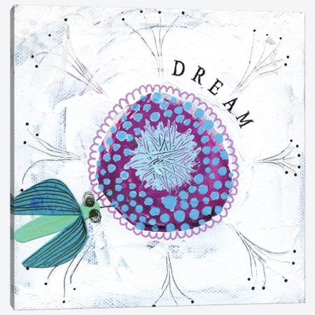 Dream Canvas Print #SFR51} by Sara Franklin Canvas Art