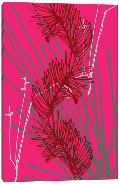 Falling Twigs Canvas Art Print