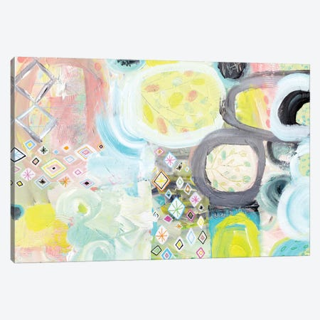 Field Canvas Print #SFR60} by Sara Franklin Art Print