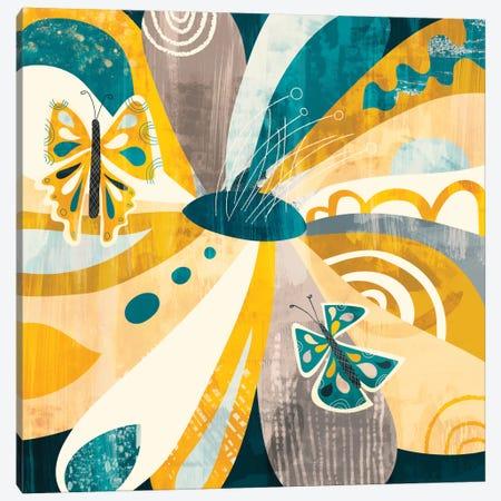Flower Petals Canvas Print #SFR65} by Sara Franklin Canvas Artwork