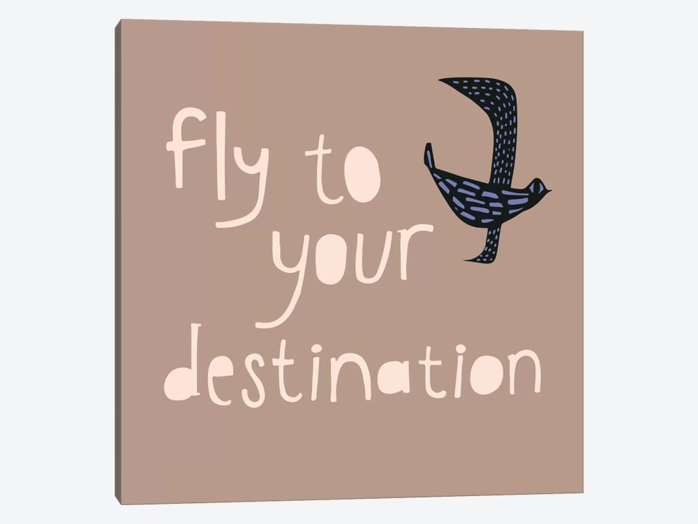 Fly To Your Destination by Sara Franklin 1-piece Canvas Art