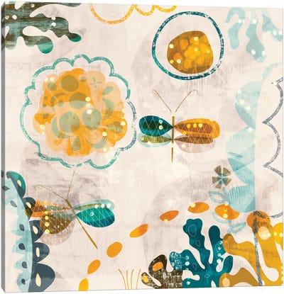 Garden Wings Canvas Art Print