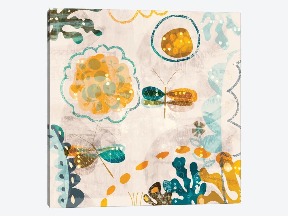 Garden Wings by Sara Franklin 1-piece Canvas Art Print