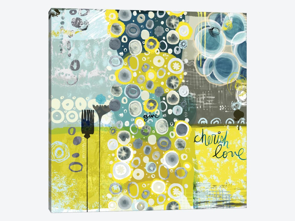 Give by Sara Franklin 1-piece Canvas Wall Art