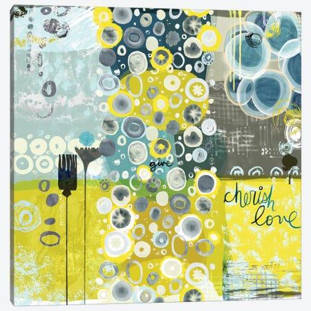 Give Canvas Print #SFR71} by Sara Franklin Canvas Wall Art