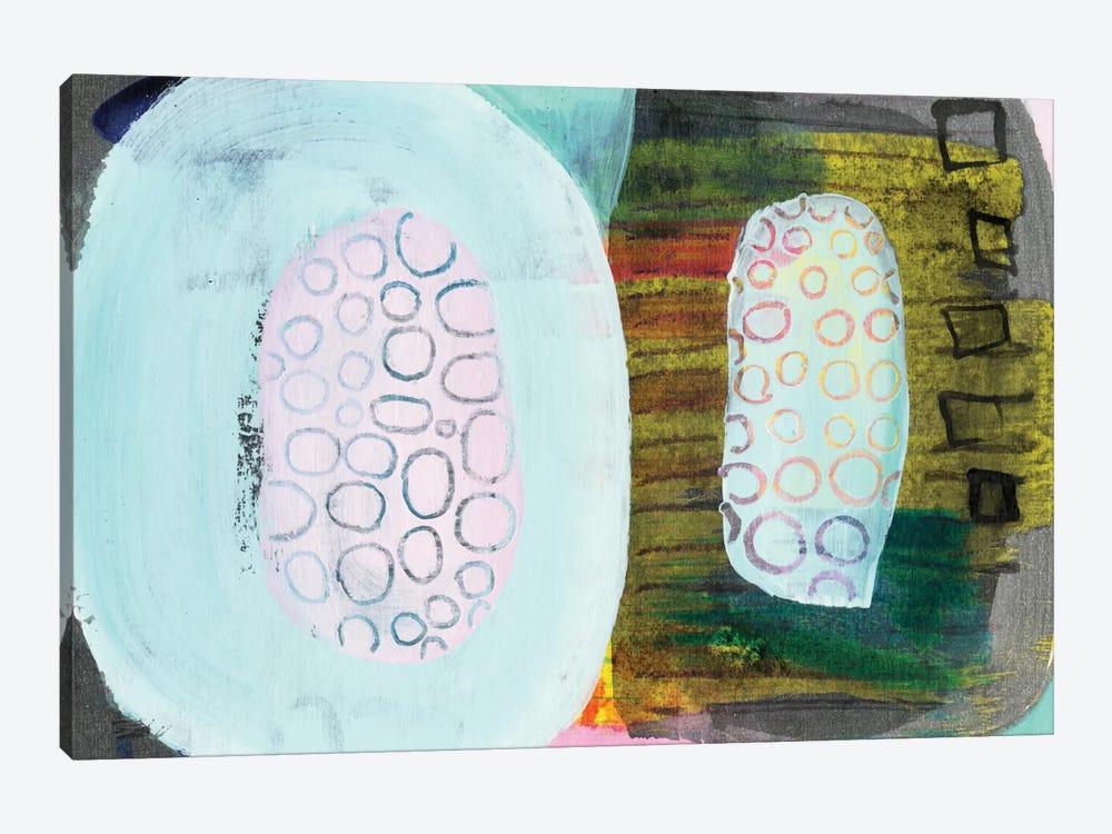 Green Pods by Sara Franklin 1-piece Art Print