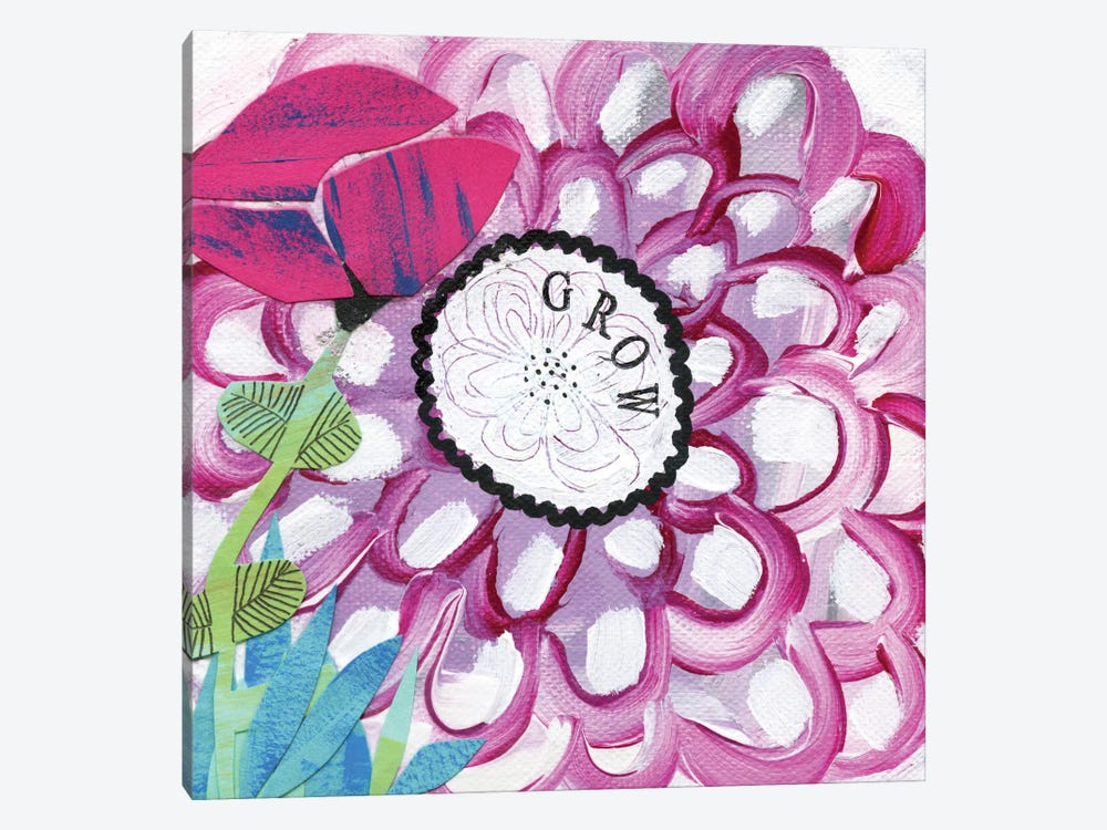 Grow by Sara Franklin 1-piece Canvas Art Print