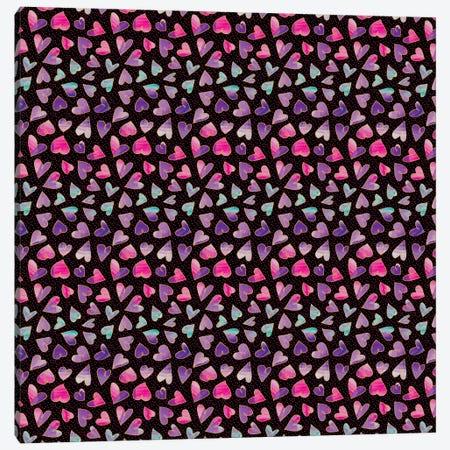Hearts Canvas Print #SFR78} by Sara Franklin Canvas Artwork