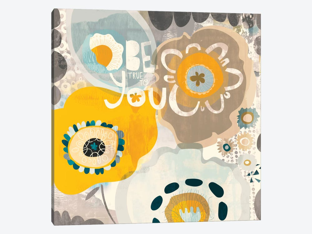Be You by Sara Franklin 1-piece Canvas Wall Art