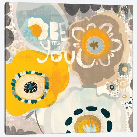 Be You Canvas Print #SFR7} by Sara Franklin Canvas Wall Art