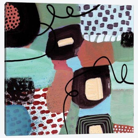 Jazz Abstract Canvas Print #SFR84} by Sara Franklin Canvas Art