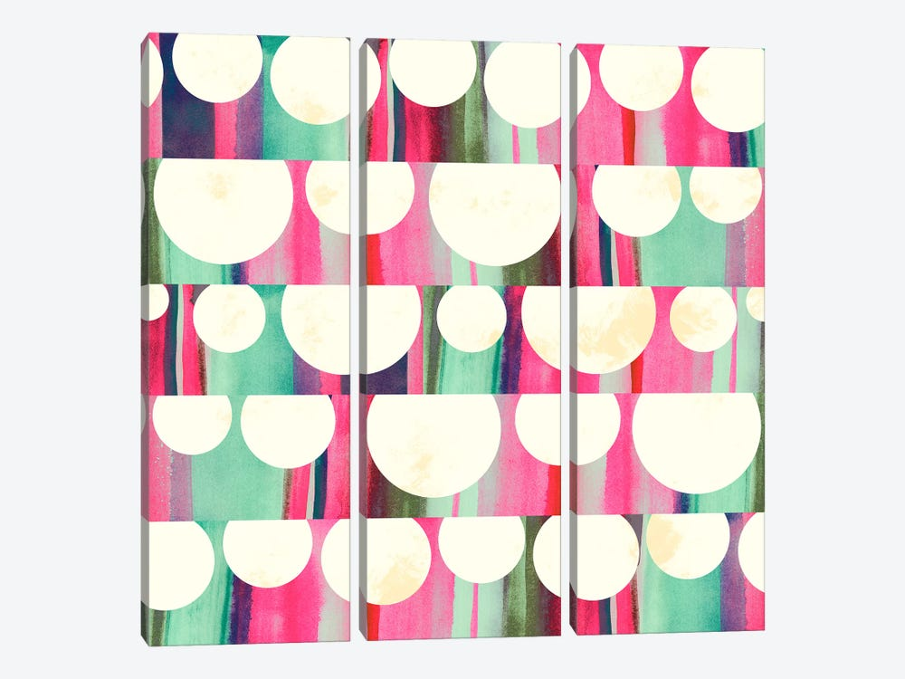 Lanterns by Sara Franklin 3-piece Canvas Art