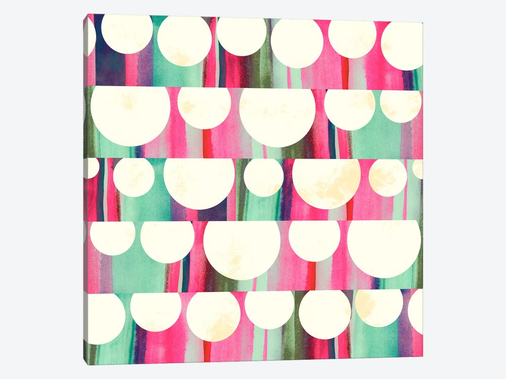 Lanterns by Sara Franklin 1-piece Canvas Art