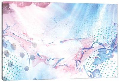 Marbled Rain Canvas Art Print