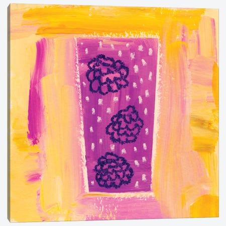 Berry Fizz Canvas Print #SFR9} by Sara Franklin Art Print