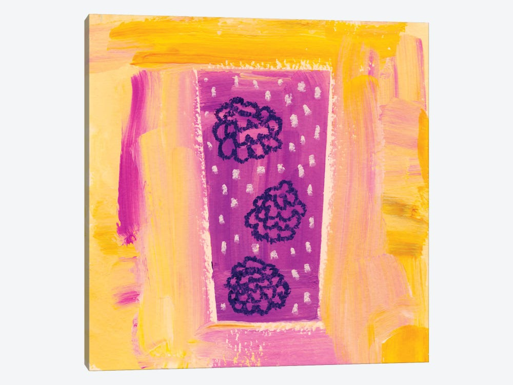 Berry Fizz by Sara Franklin 1-piece Canvas Artwork