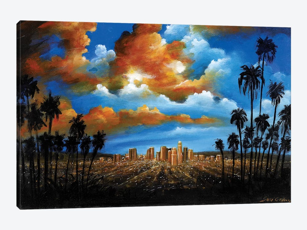City Of Angels by Susi Galloway 1-piece Canvas Print