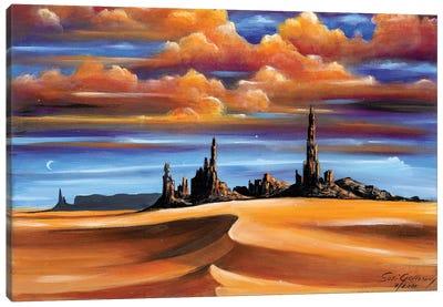 Monument Valley Canvas Art Print