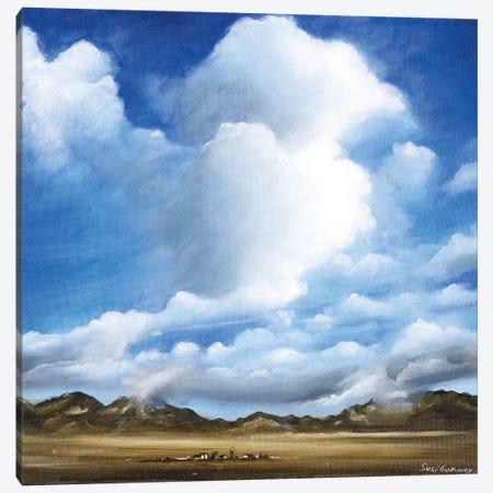 The Rockies Canvas Print #SGA14} by Susi Galloway Art Print
