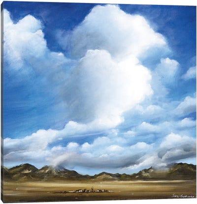 The Rockies Canvas Art Print
