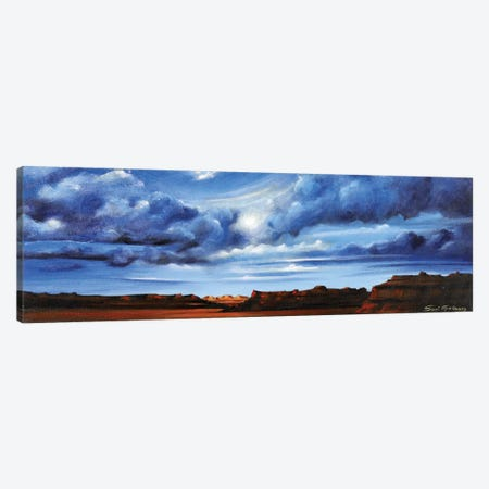 Glorious Morning Canvas Print #SGA15} by Susi Galloway Art Print