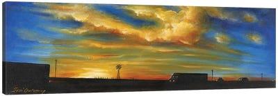 On Route 66 To Amarillo Canvas Art Print