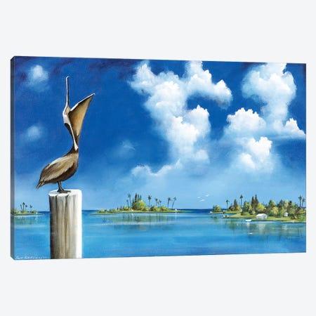 Good Morning, Florida Canvas Print #SGA19} by Susi Galloway Canvas Wall Art