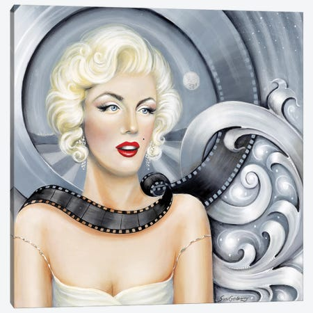 Norma Jean's Dream Canvas Print #SGA1} by Susi Galloway Canvas Artwork