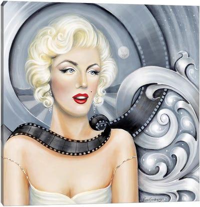 Norma Jean's Dream Canvas Art Print