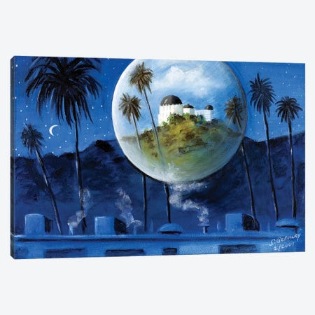 Midnight Dream In Los Feliz Canvas Print #SGA23} by Susi Galloway Canvas Art Print