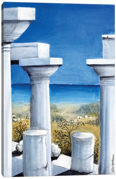 Once Upon A Time In Greece Canvas Art Print