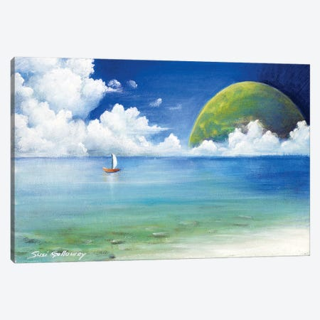 Different Point Of View Canvas Print #SGA30} by Susi Galloway Canvas Artwork