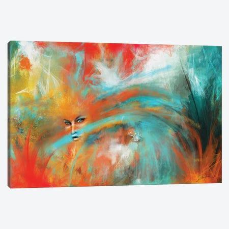 Camouflage Canvas Print #SGA32} by Susi Galloway Canvas Artwork