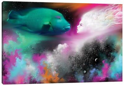 Confrontation Canvas Art Print