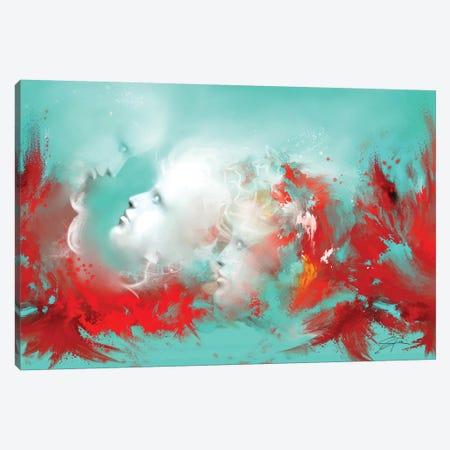 Reconnect Canvas Print #SGA35} by Susi Galloway Art Print