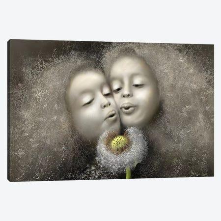 Playfulness Canvas Print #SGA36} by Susi Galloway Canvas Art Print