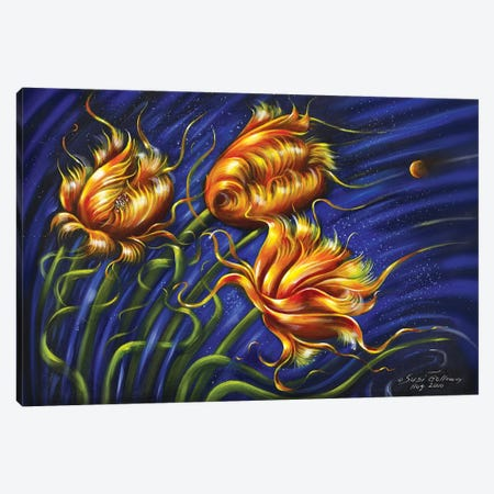 Spulips Canvas Print #SGA4} by Susi Galloway Canvas Art Print